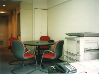 1996年3月創業時 当社事務所内